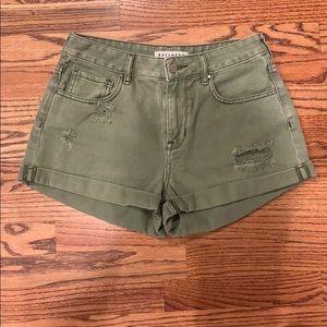 Bullhead High-Rise Shorts